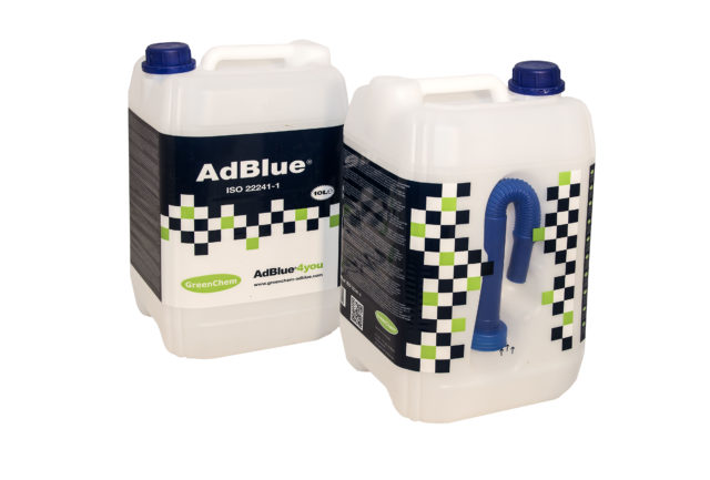 10l canisters  - Greenchem Adblue